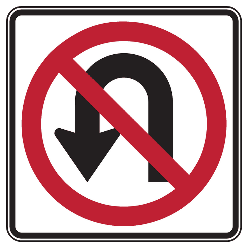U-Turns in Residential Districts