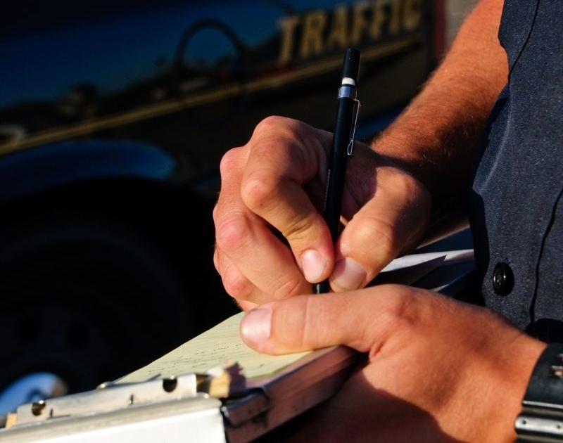 most common traffic violations in california