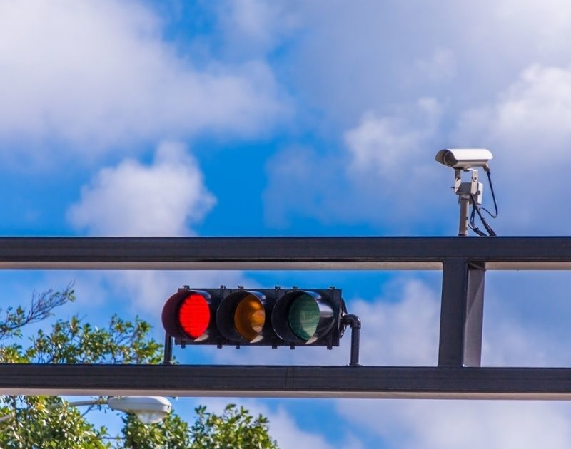 does red light camera ticket go on your record