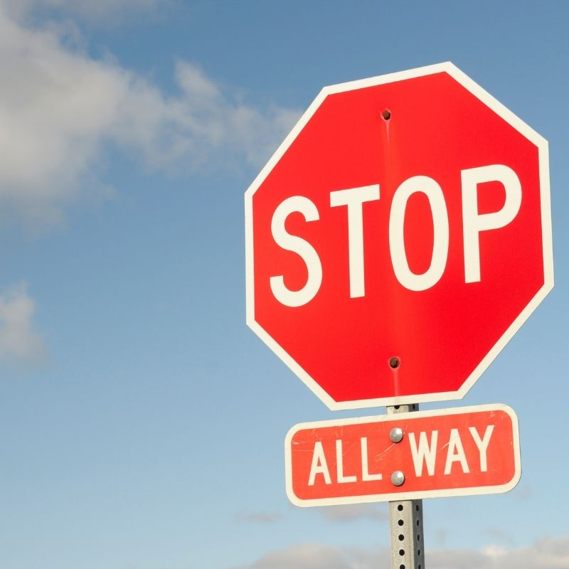 How Much is a Ticket for Running a Stop Sign in California